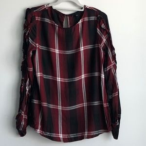 Sanctuary Flannel Blouse Size Small